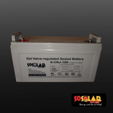 Gel Valve 100Ah grey
