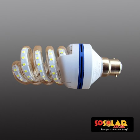 HL-204 B22-12W LED bulb (Spiralled energy saving lamp)9