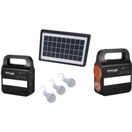 Solar Light and cell System with Radio 1