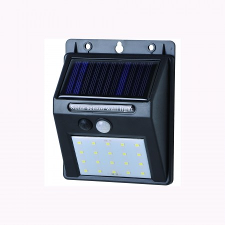 Solar powered LED wall sensor light 2-1